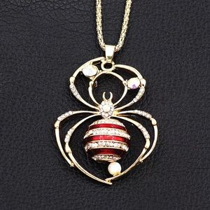 Red Spider Necklace